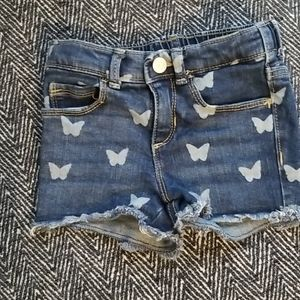 Old Navy Butterfly Jean Shorts